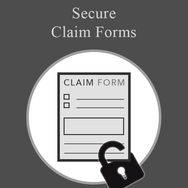 Secure Claim Forms